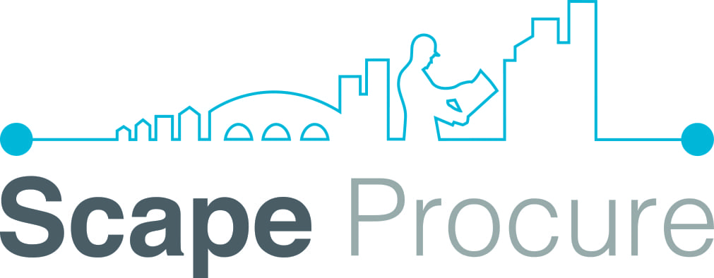 The logo for Scape Procure